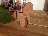 Laser Cut 3d Puzzle Squirrel And Leaf Template Free DXF File