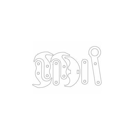 Grapel Hook Free DXF File