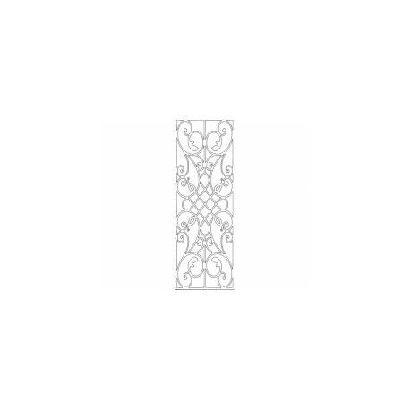 Grille Pattern 02 Free DXF File