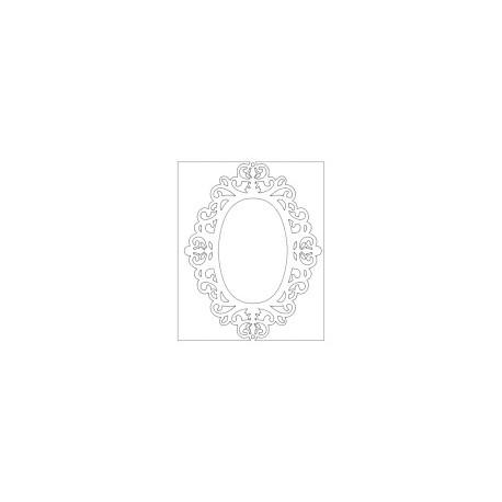 Mirror 04 Free DXF File