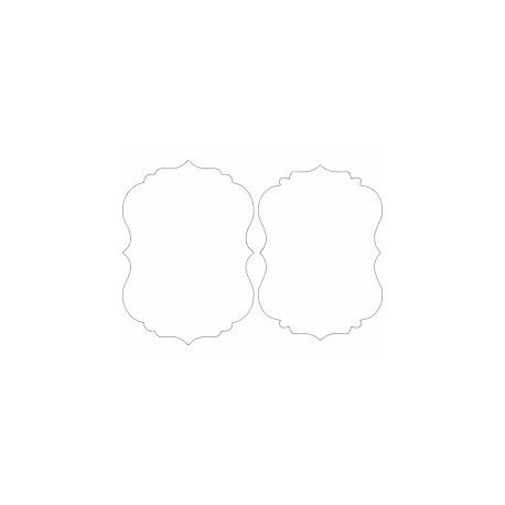 Mirror Frame 07 Free DXF File
