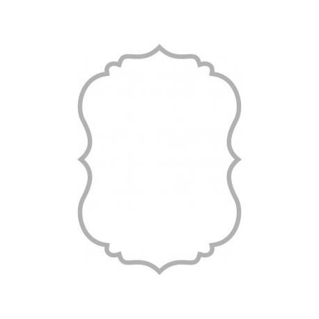 Mirror Frame Design S1 Free DXF File