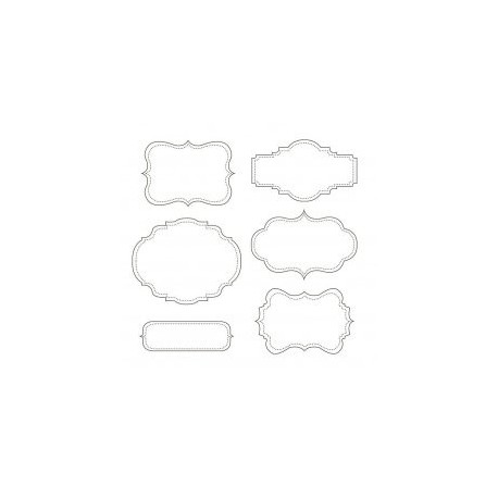 Mirror Frames Candy Buffet Free DXF File