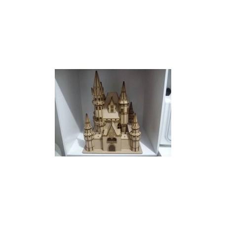 Zamok Disney Castle Free DXF File