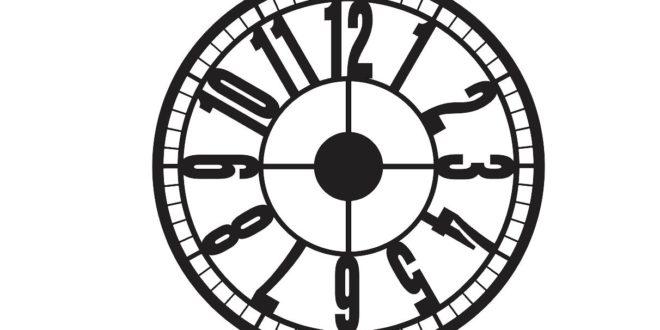 Clock To Laser Cuts Download Free CDR Vectors Art