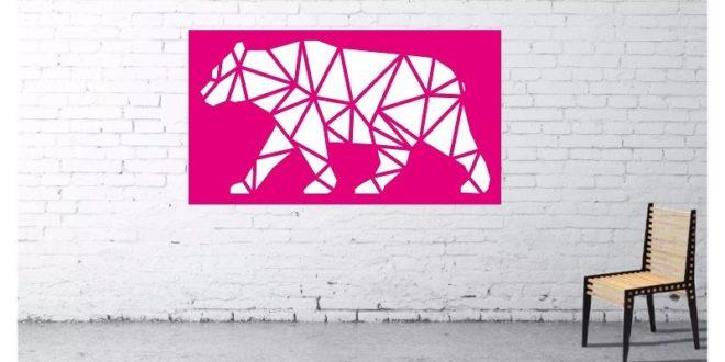 Feline Animal Dashboard Wall Living Room Free DXF File