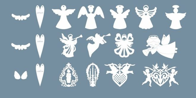 Pack Silhouettes To Cut Free DXF File