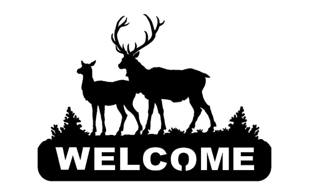 Deer 2 Welcomes Free DXF File