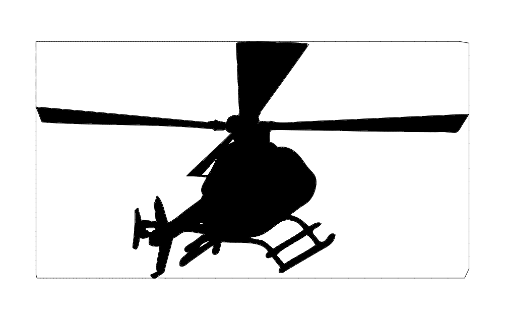 Heli Free DXF File