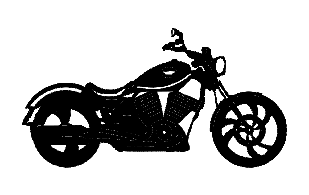 Victory Motorcycle Free DXF File