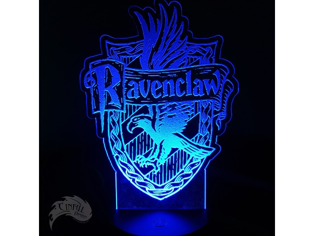 Ravenclaw House Crest Free DXF File