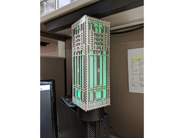 Flw Lamp Template Free CDR Vectors Art