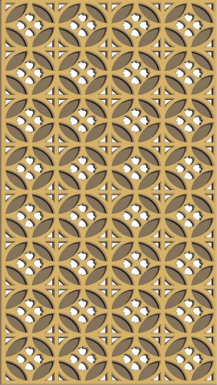 Window Grill Pattern For Laser Cutting 59 Free CDR Vectors Art