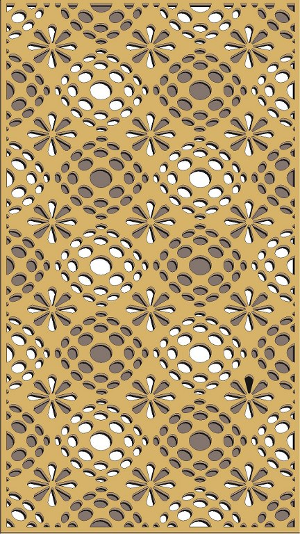 Window Grill Pattern For Laser Cutting 57 Free CDR Vectors Art
