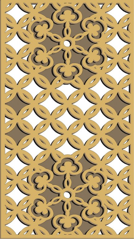 Window Grill Pattern For Laser Cutting 47 Free CDR Vectors Art