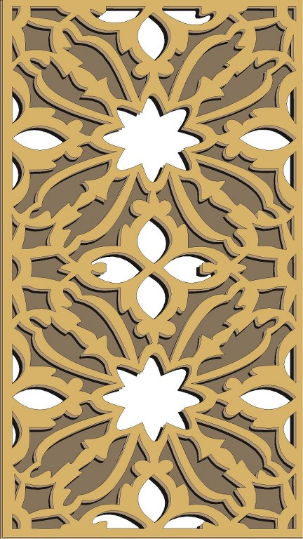 Window Grill Pattern For Laser Cutting 46 Free CDR Vectors Art