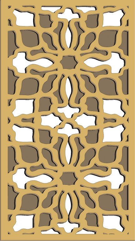 Window Grill Pattern For Laser Cutting 78 Free CDR Vectors Art