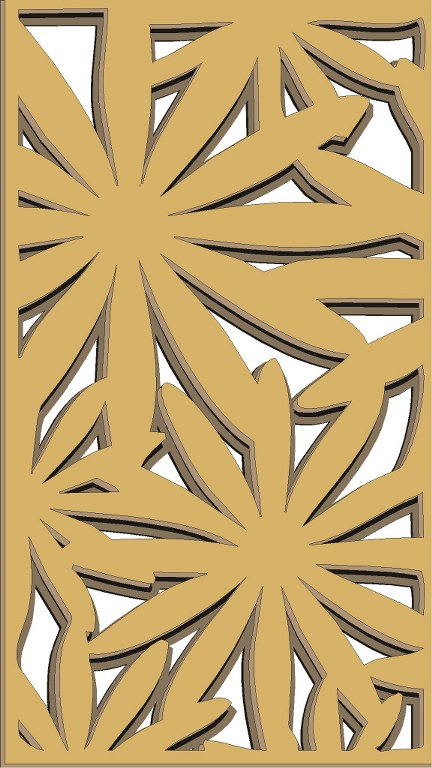 Window Grill Pattern For Laser Cutting 77 Free CDR Vectors Art