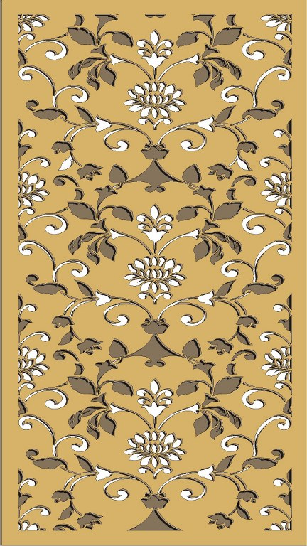Window Grill Pattern For Laser Cutting 75 Free CDR Vectors Art