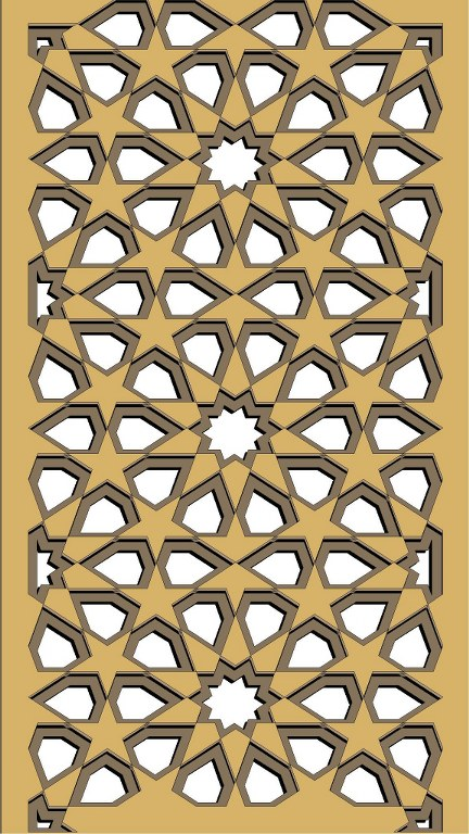 Window Grill Pattern For Laser Cutting 67 Free CDR Vectors Art