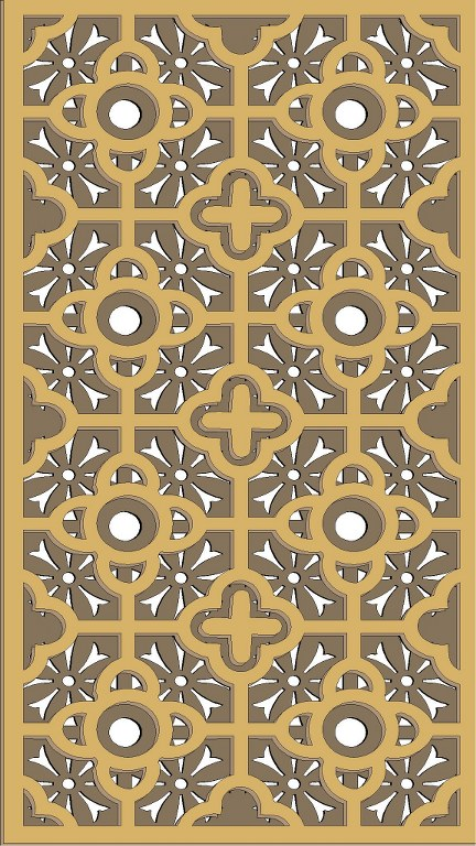 Window Grill Pattern For Laser Cutting 63 Free CDR Vectors Art