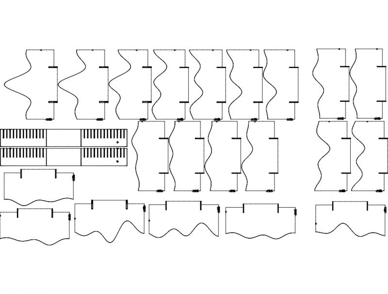 Landschaft 3d Puzzle Free DXF File