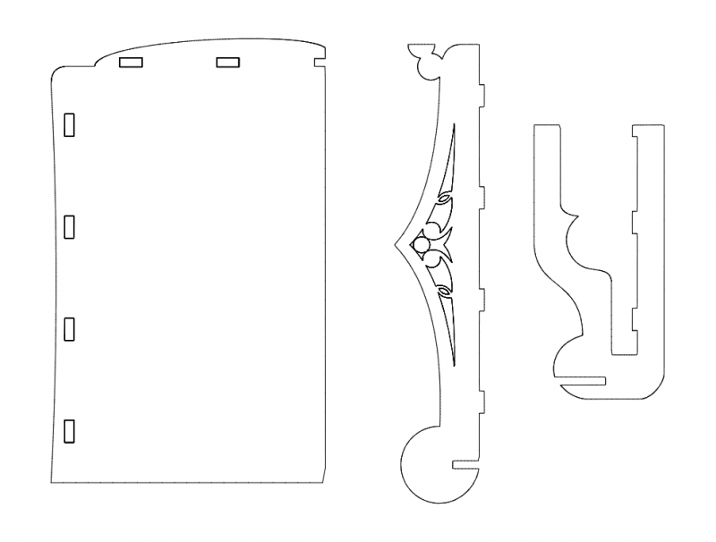 Ok 3d Puzzle Free DXF File