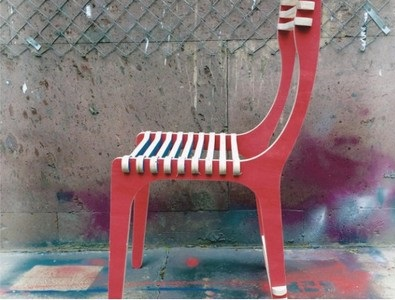 Laser Cut Cnc Chair Free CDR Vectors Art