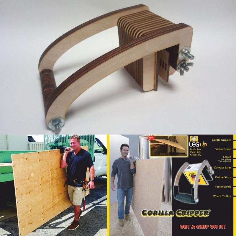 Laser Cut Cnc Dlya Perenoski Fanery – Plywood Carrying Device Free CDR Vectors Art