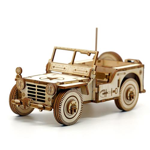 Laser Cut Cnc Jeep Free CDR Vectors Art