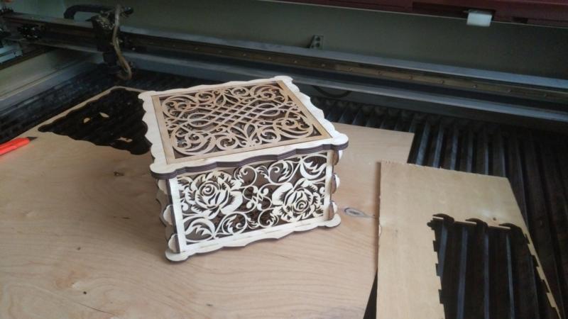 Decor Box Laser Cut 3d Puzzle Free CDR Vectors Art