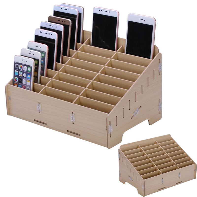Laser Cut Rack For Mobile Phones 3d Puzzle Free CDR Vectors Art