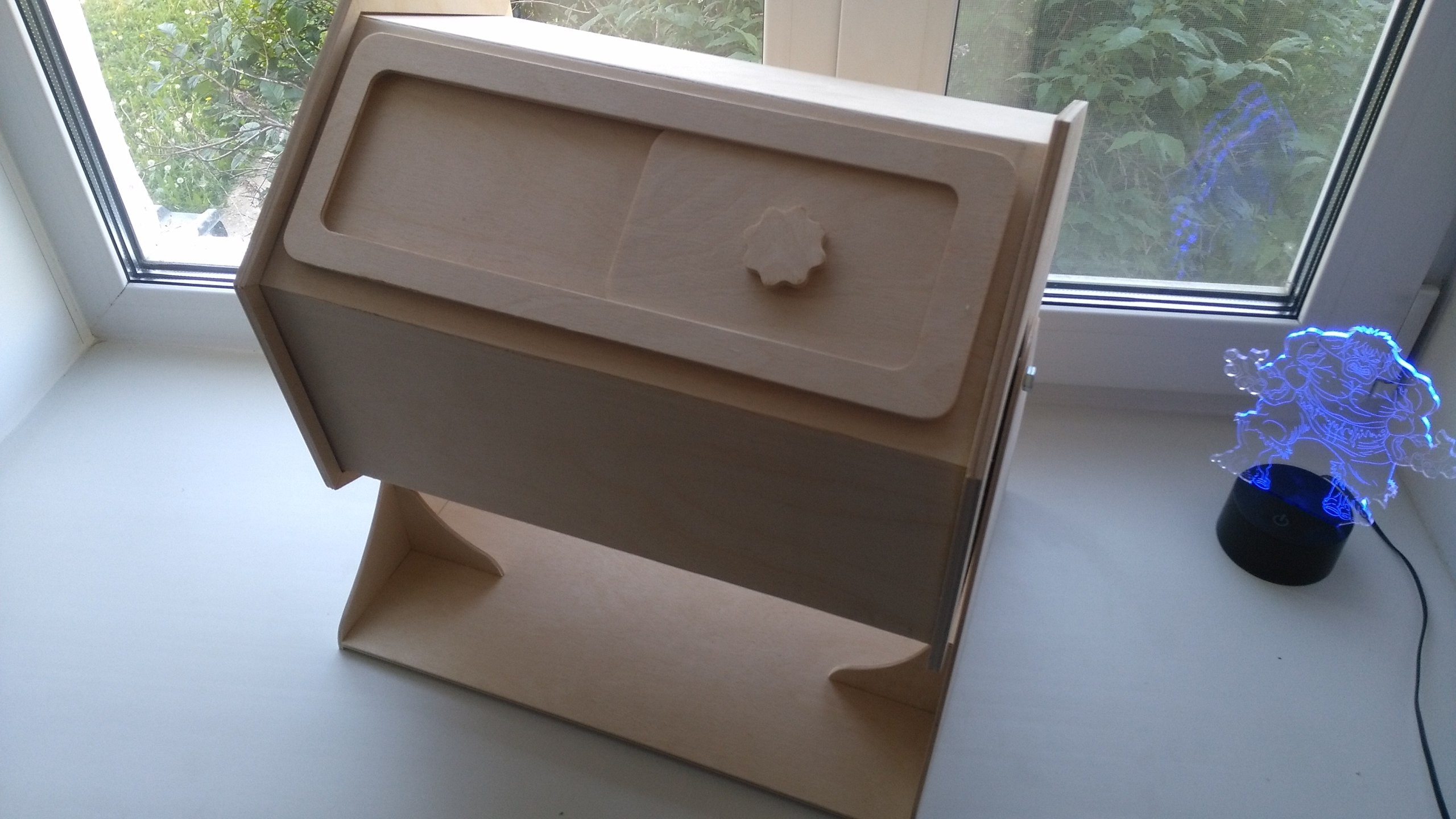 лототрон Laser Cut 3d Puzzle Free DXF File