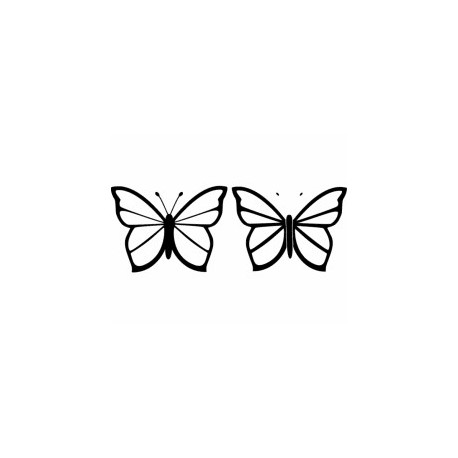 Butterfly 26 Ornament Decor Free DXF File