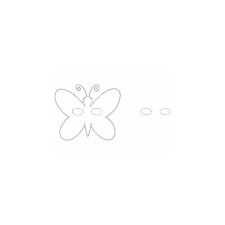 Butterfly 31 Ornament Decor Free DXF File
