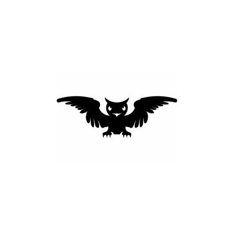 Sova Uhu Owl Free DXF File