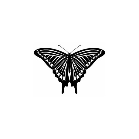 Tattoo Butterfly 04 Free DXF File