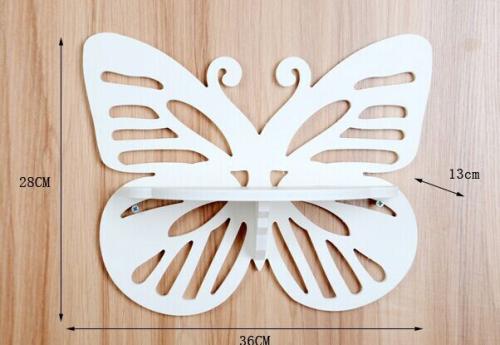 Laser Cut Butterfly Shelf 3d Puzzle Free CDR Vectors Art