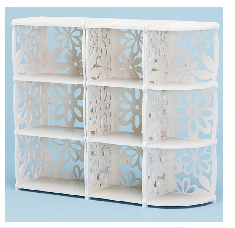 Laser Cut Decorative Shelf Bookcase 3d Puzzle Free CDR Vectors Art