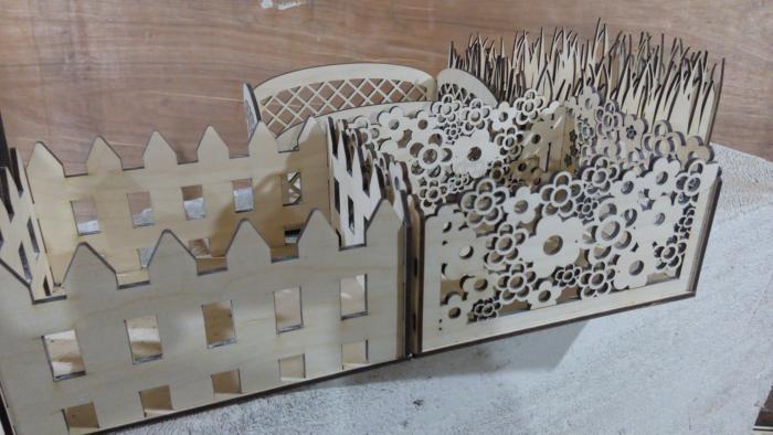 Laser Cut Decorative Storage Baskets 3d Puzzle Free CDR Vectors Art