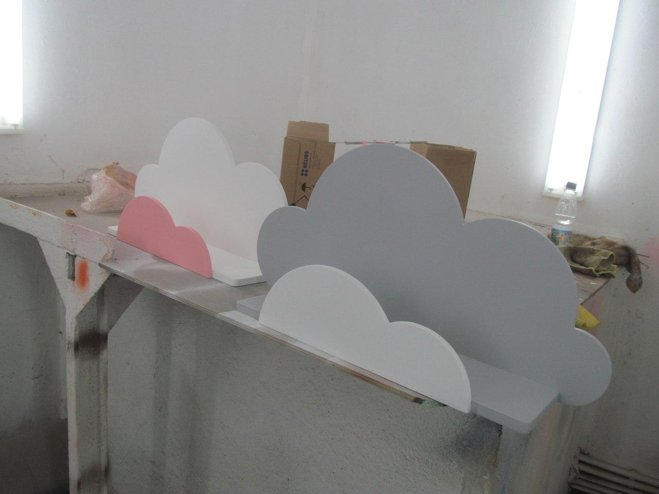 Laser Cut Plywood Shelf 10mm 15mm Clouds 3d Puzzle Free CDR Vectors Art