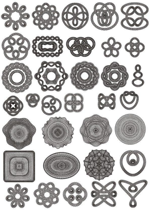 Giliosh Ornament Free CDR Vectors Art
