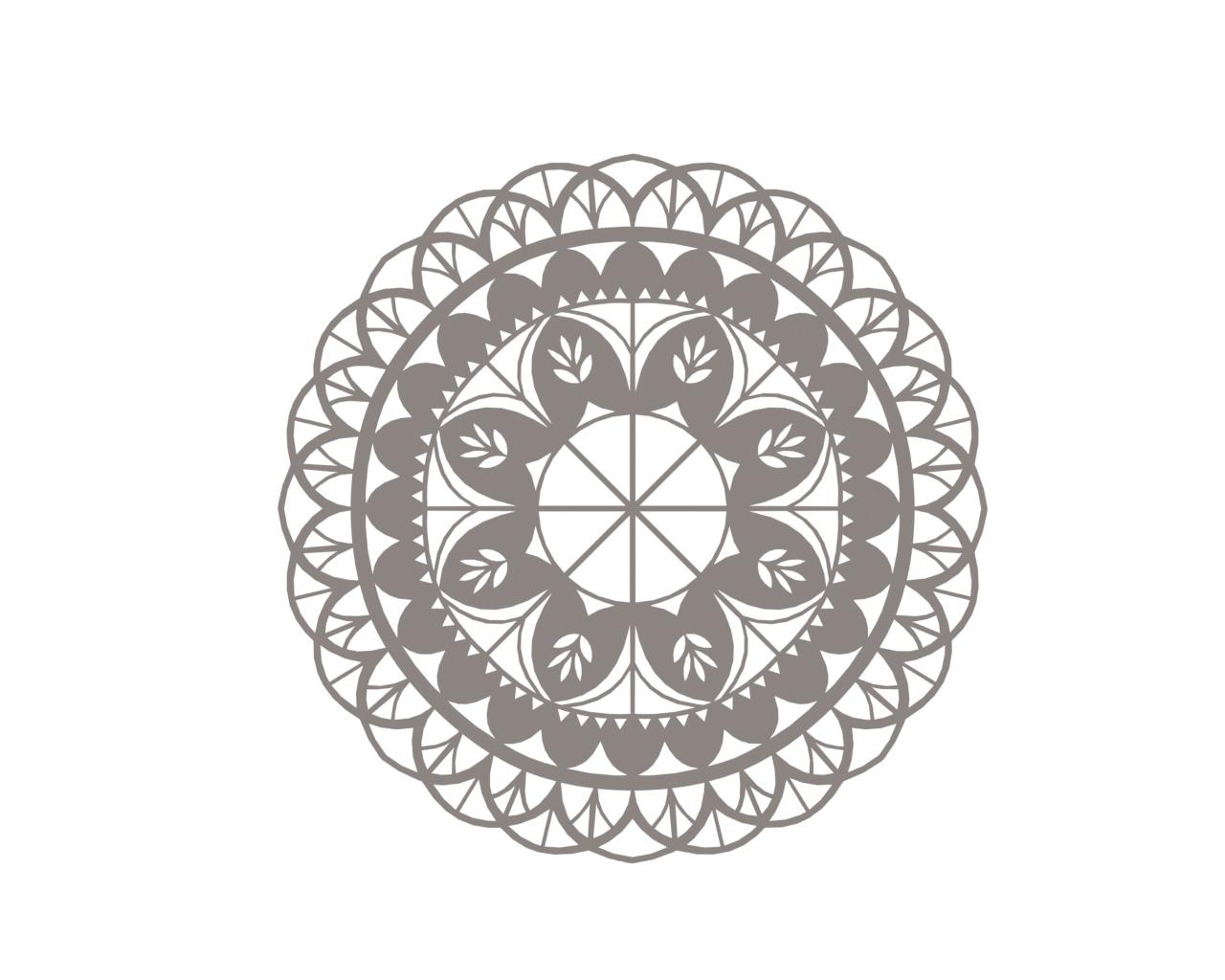 Floral Mandala Ornament Free CDR Vectors Art