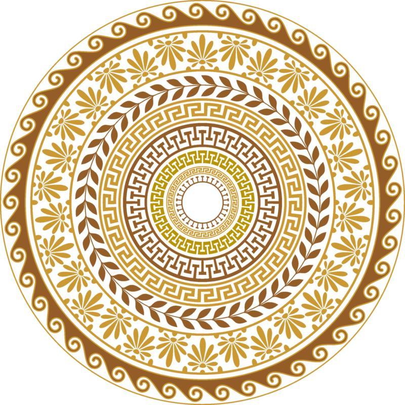 Gretskie Ornamenty Free CDR Vectors Art