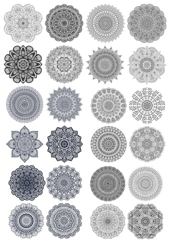 Indian Ornaments Free CDR Vectors Art