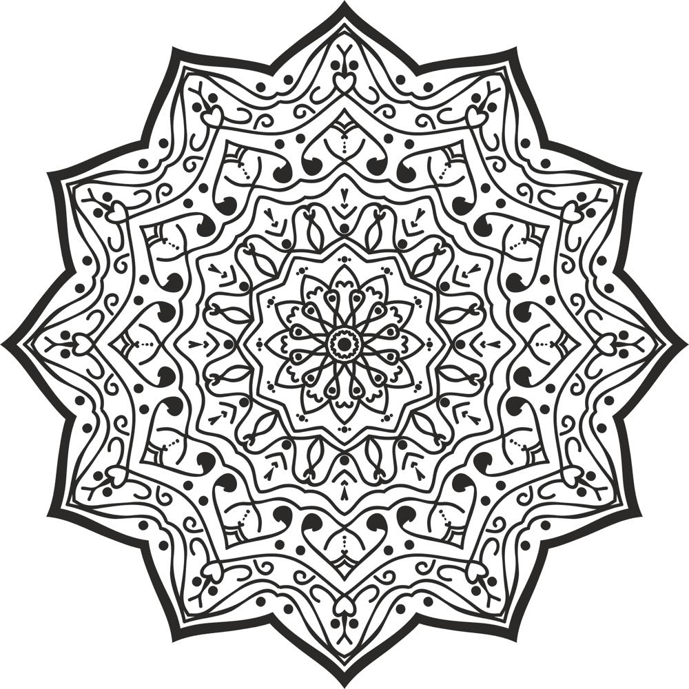 Luxury Mandala Design Ornament Free CDR Vectors Art