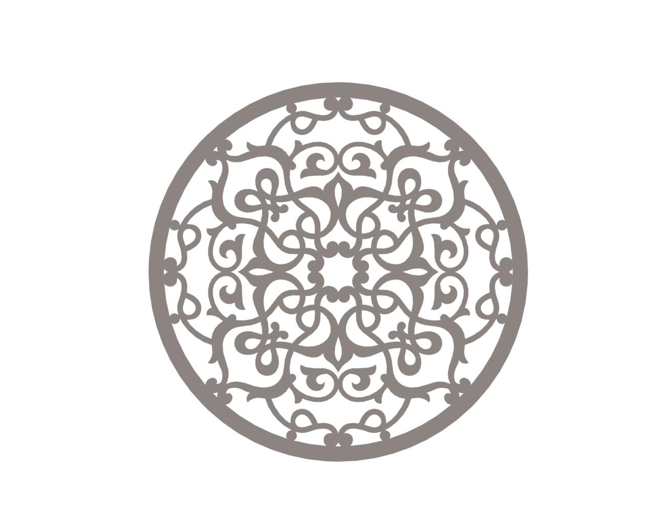 Mandala Design Element Ornament Free CDR Vectors Art