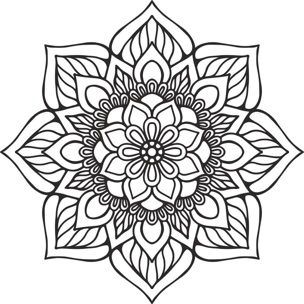Mandala Indian Ornament Free CDR Vectors Art