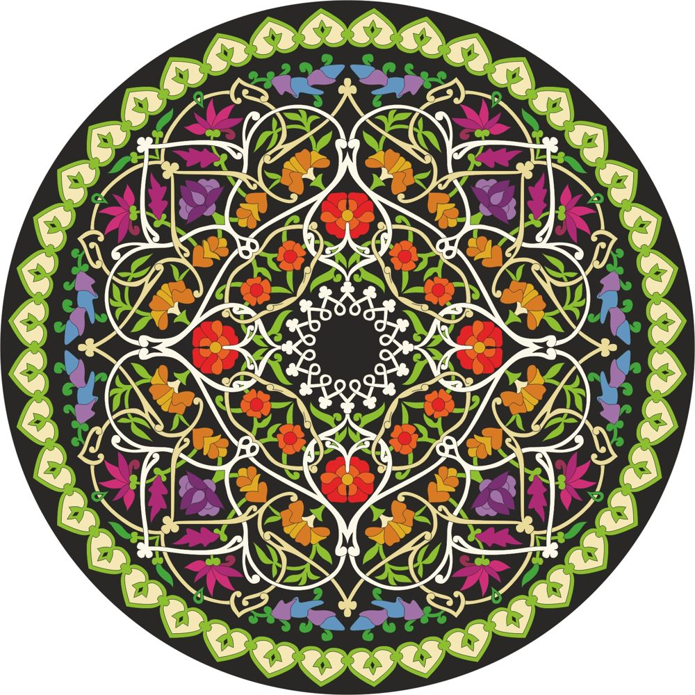 Mandala Ornament Free CDR Vectors Art