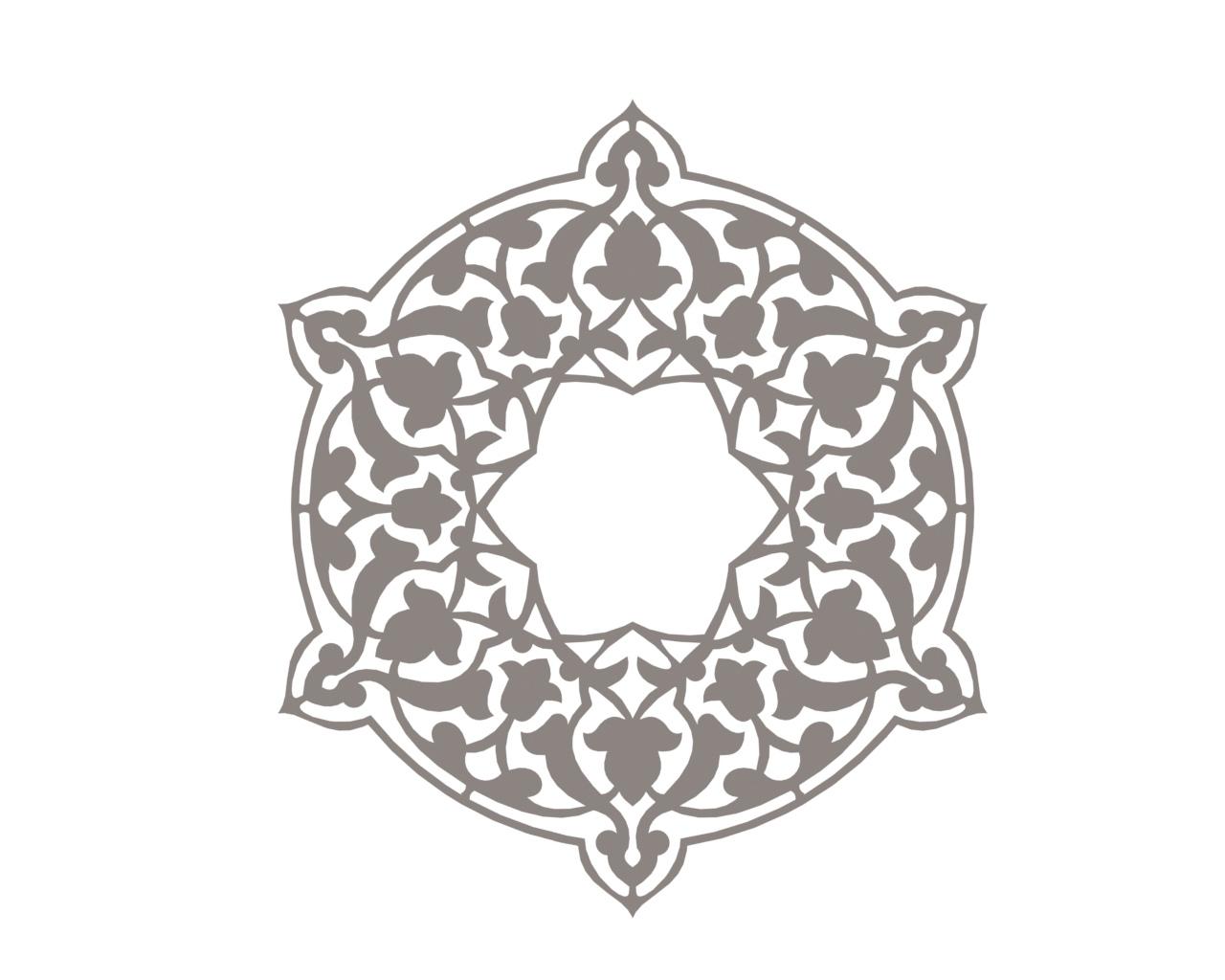 Awesome Mandala Ornament Free DXF File